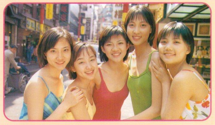 第一代青春美少女98年在日本写真集