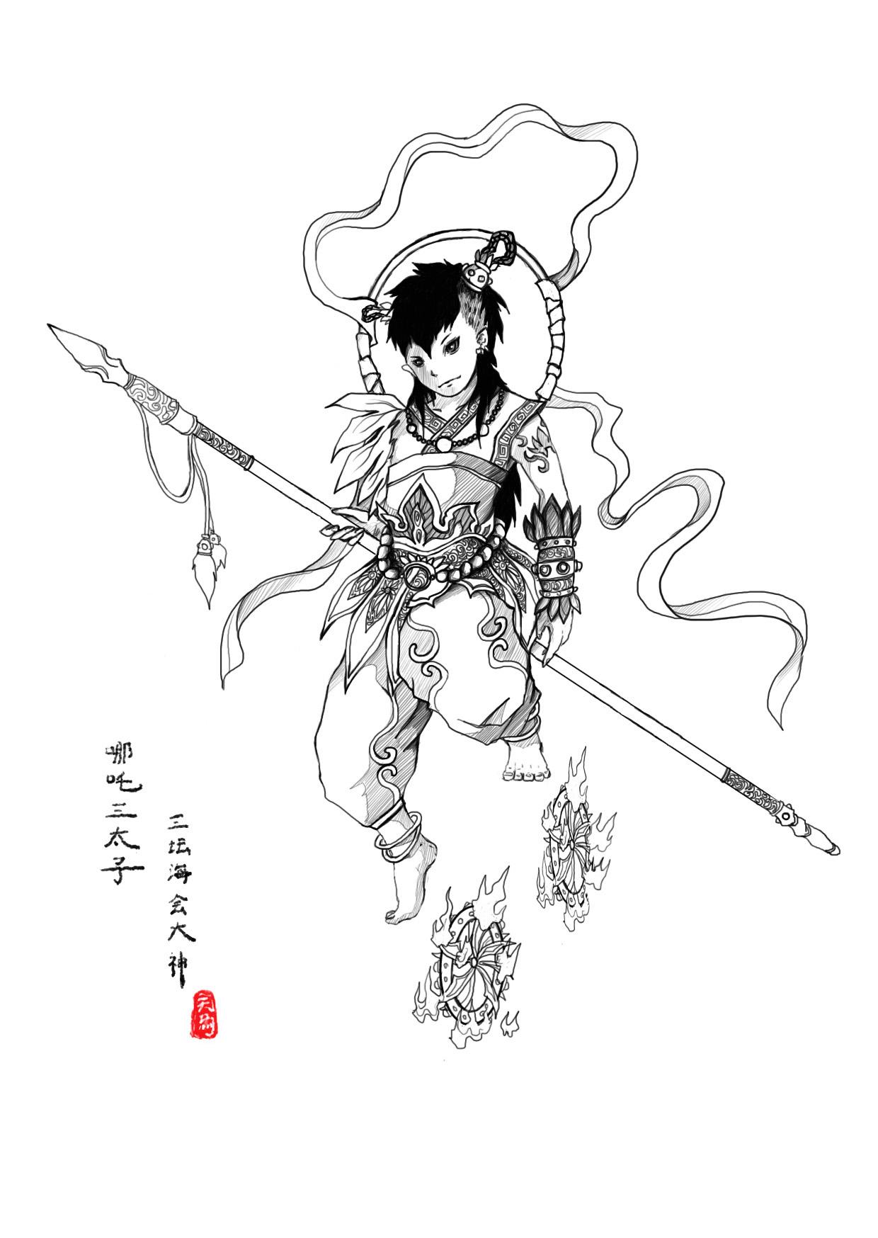 【西游记】人物设定(第一部分)图片