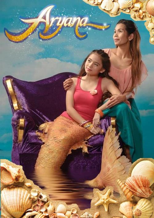 《我的女儿是美人鱼aryana》(2012)菲律宾电视剧图片