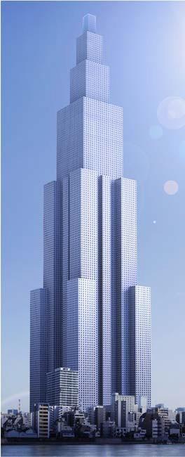 中国第一高楼1300米