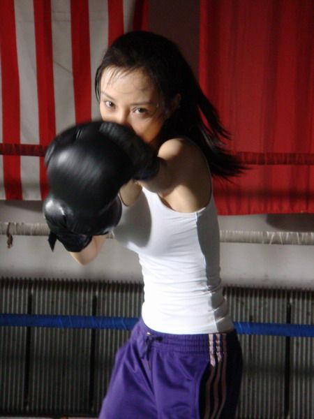 练的是散打还是拳击