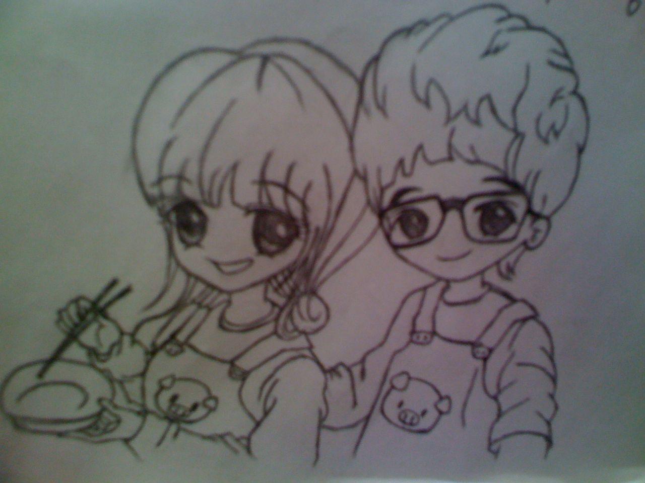 维尼夫妇 110401 漫画 仿照青春的漫画