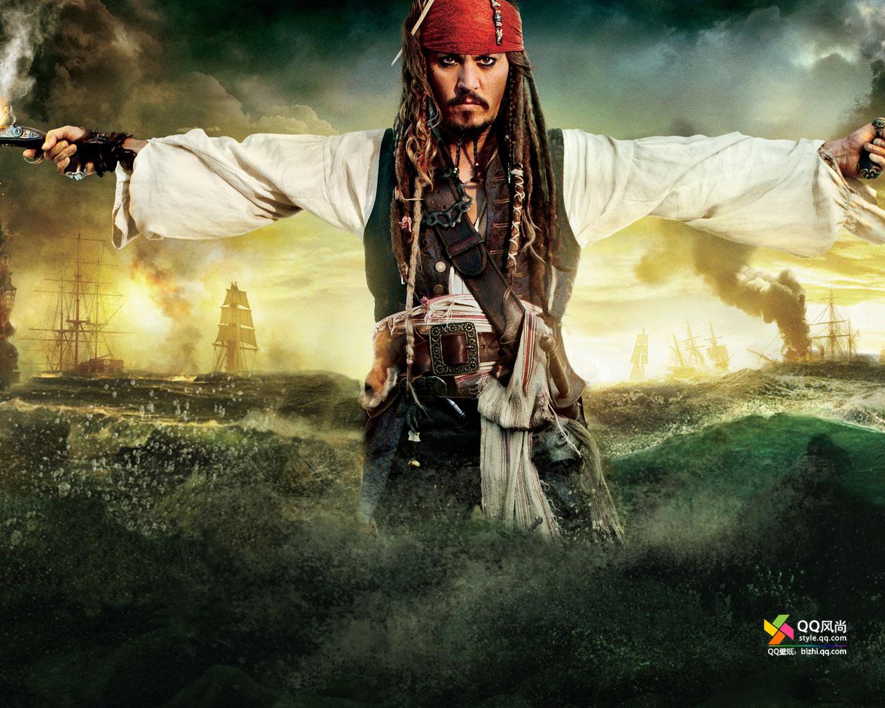 加勒比海盗的船长图片