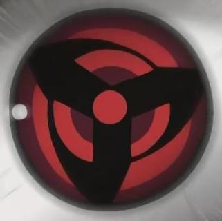 写轮眼图案 火影忍者万花筒写轮眼 开启万花筒写轮眼的方法 高清图片
