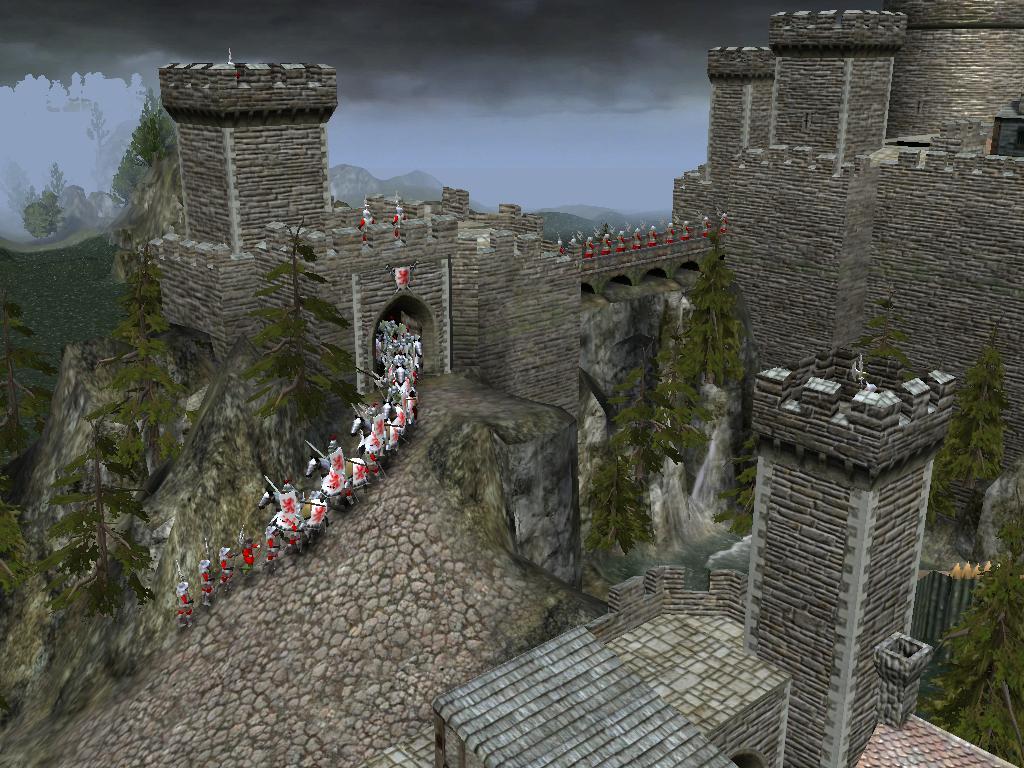 yy出品,真城堡系列之湖心小城 高清图片