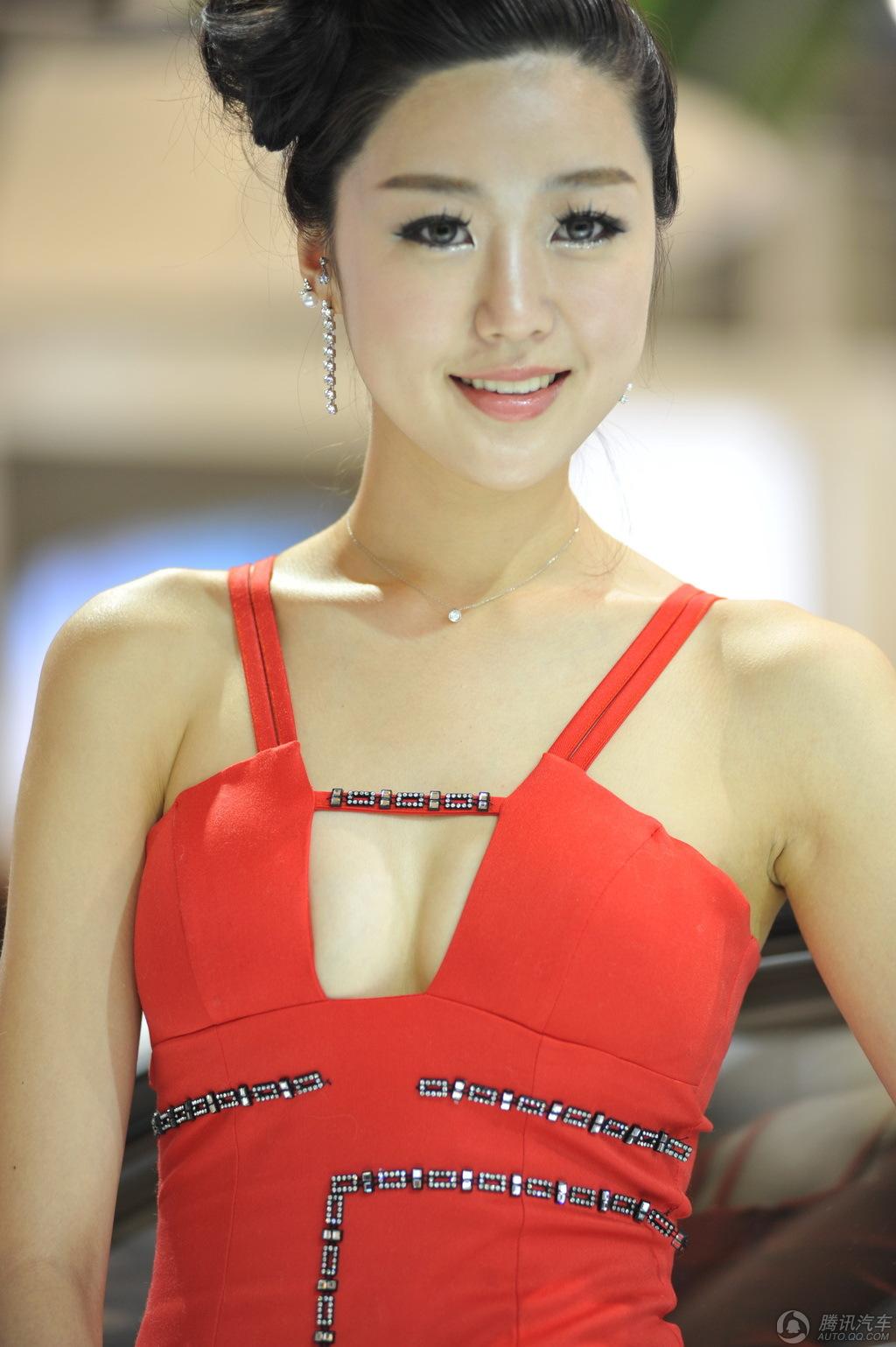 2012成都车展网纹美女