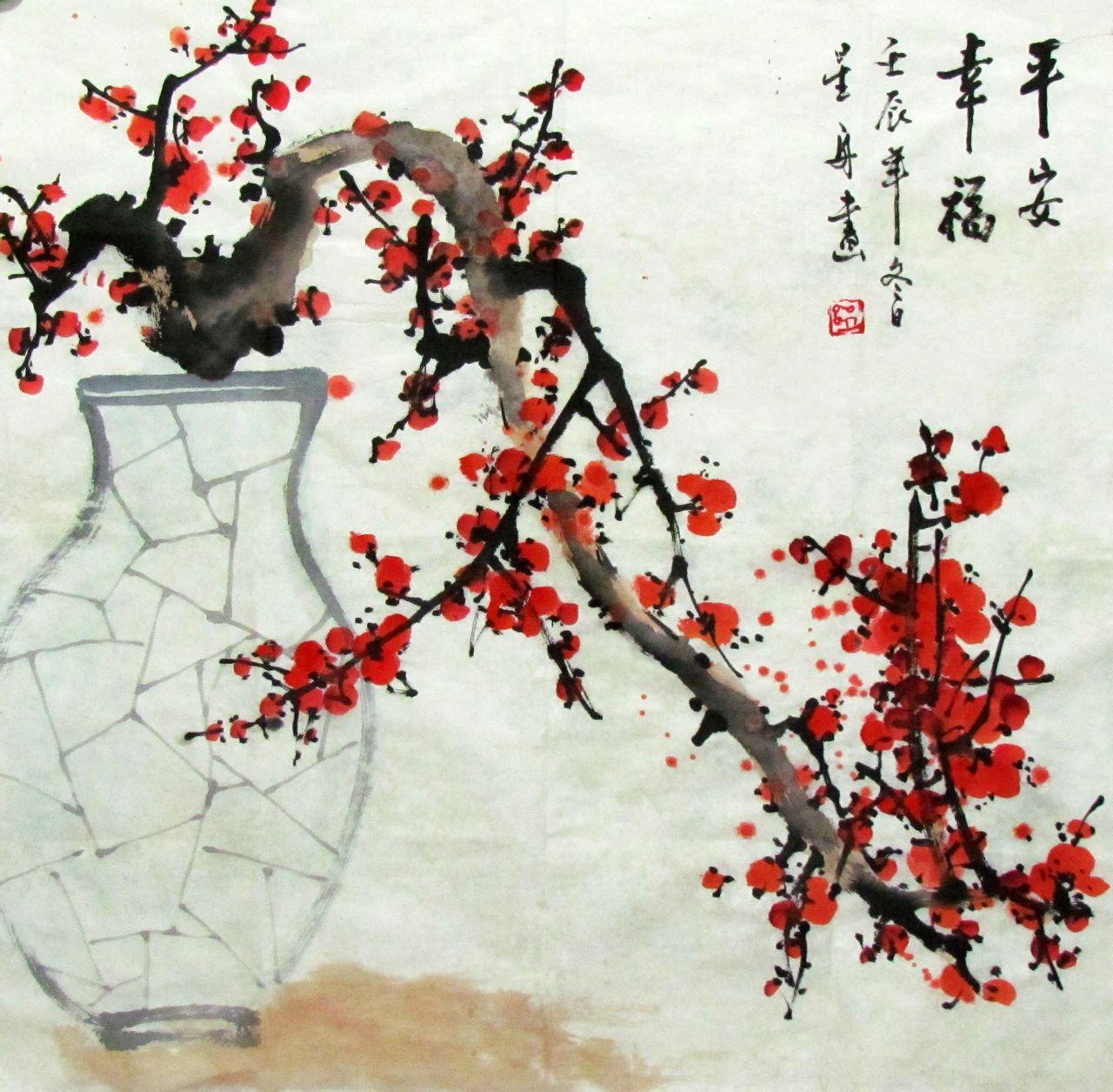 画梅花最好的画家是谁分享展示图片