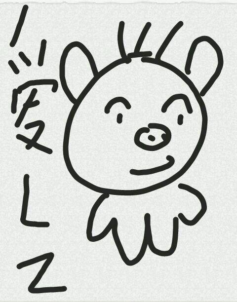 小猪手指点画分享展示图片
