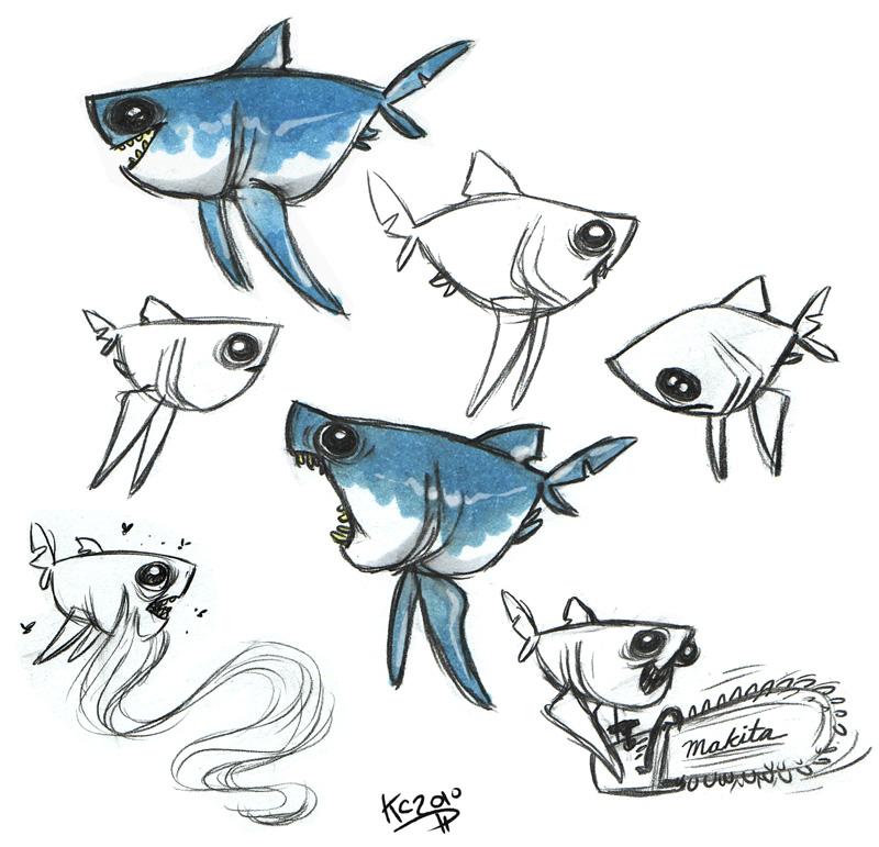 【图】q版软骨鱼类~~~图片