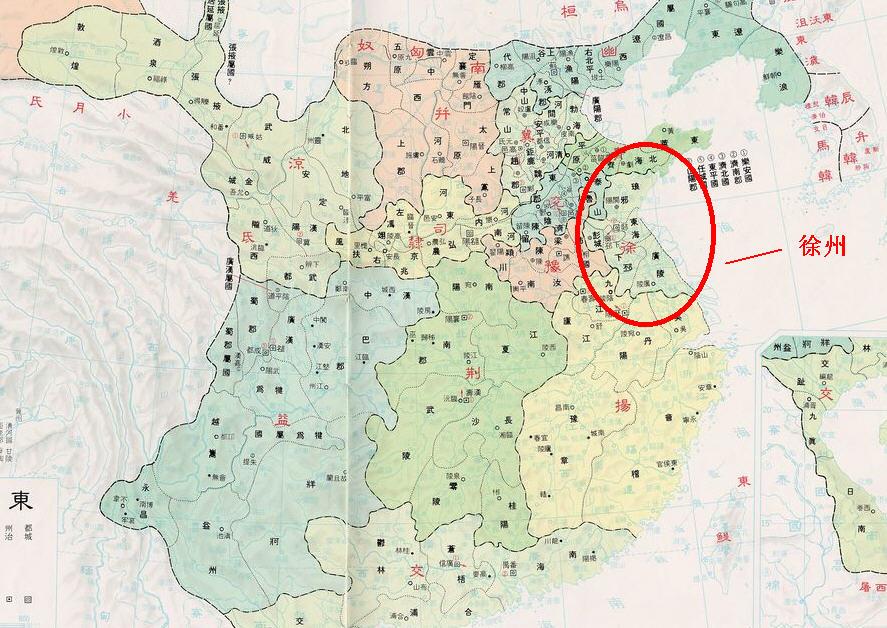 汉朝十三州及郡地图