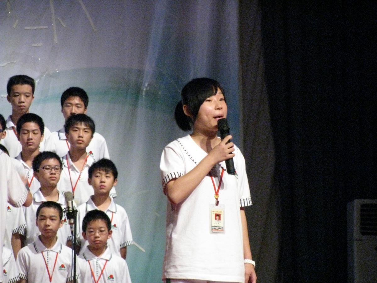 初中部红歌合唱比赛 【图海】_潮阳实验学校吧_百度图片