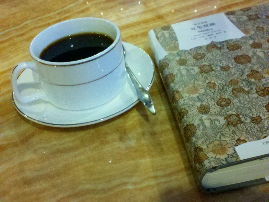 咖啡与书唯美意境图片展示图片