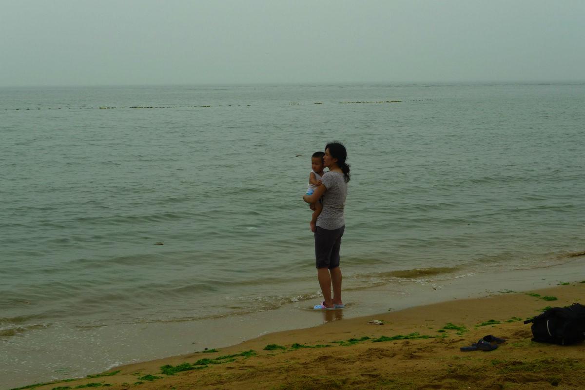 岚山-多岛海浴场-洗澡随拍图片
