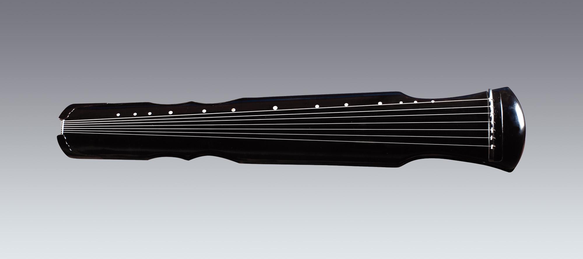 古琴有很多样式,常见的有伏羲式图片