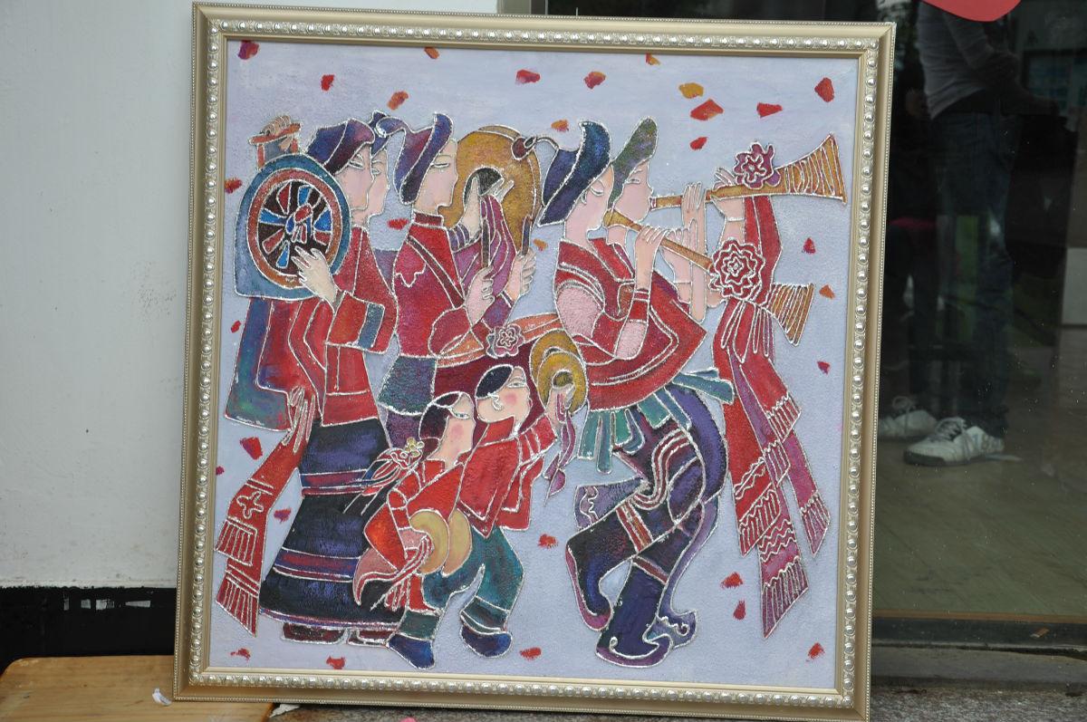 【爆照】艺术系08级美术学装饰画专业毕业作品图片图片