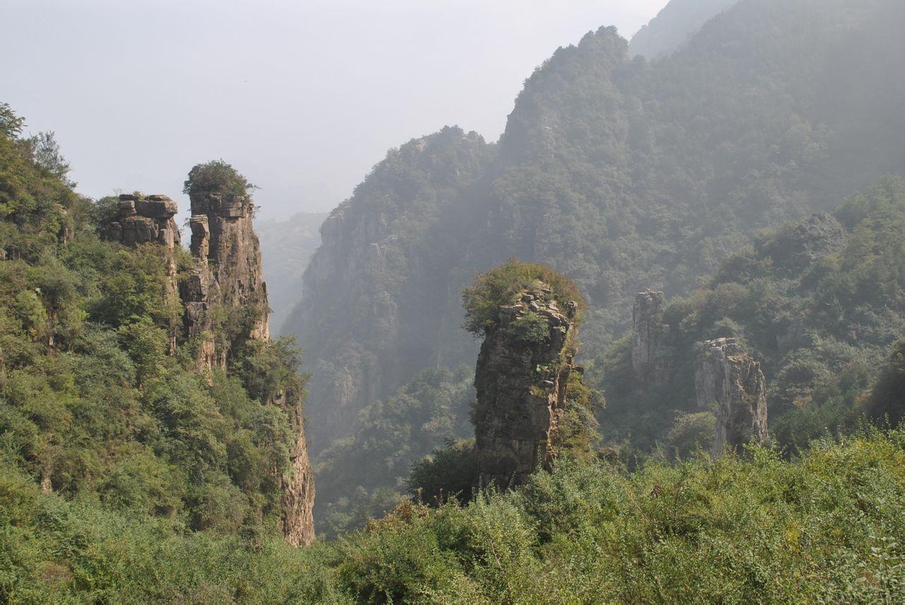 安阳林州大峡谷图片