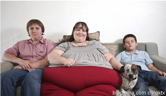 【醒目灯】美国女子疯狂增肥欲当世界最胖女性