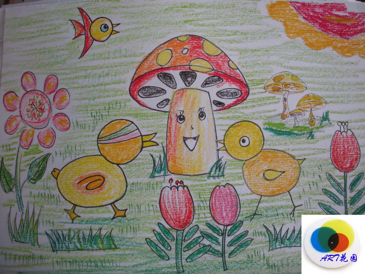 暑假儿童美术班第二批学员招生图片