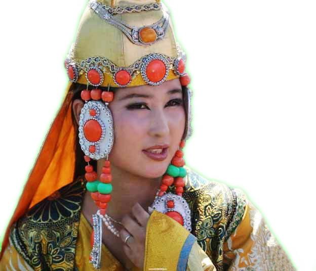 的蒙古族美女===