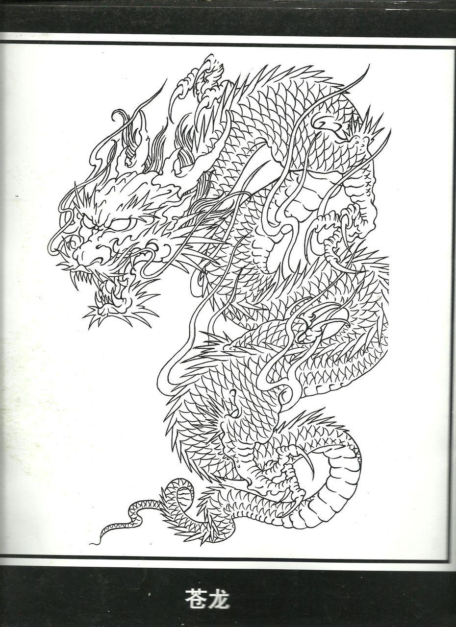 线条纹身手稿图分享展示图片