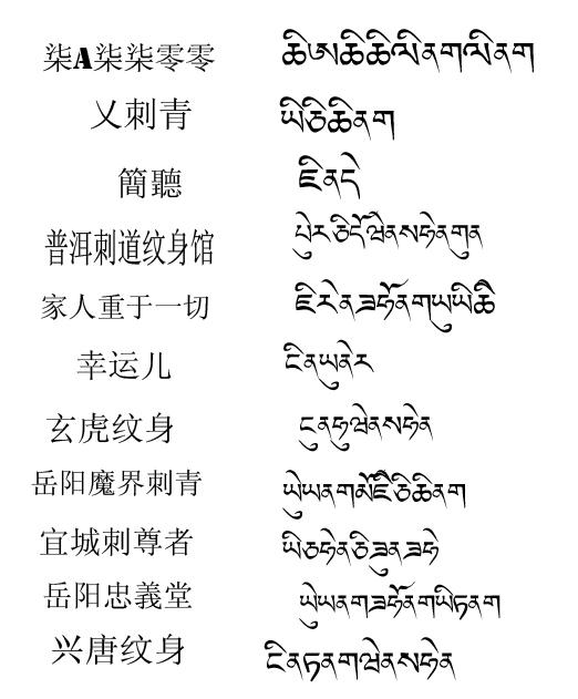 经典梵文纹身翻译对照素材第7页图片