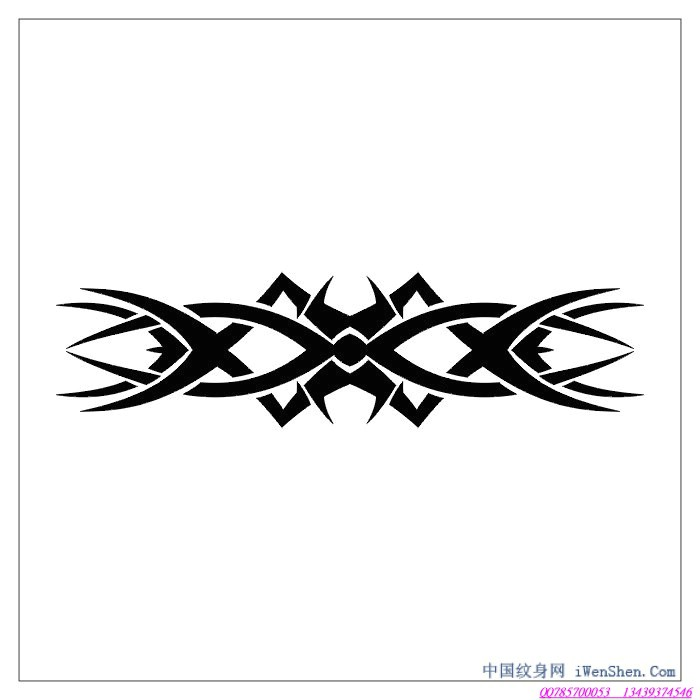 臂环图腾纹身手稿大全_纹身图案图片