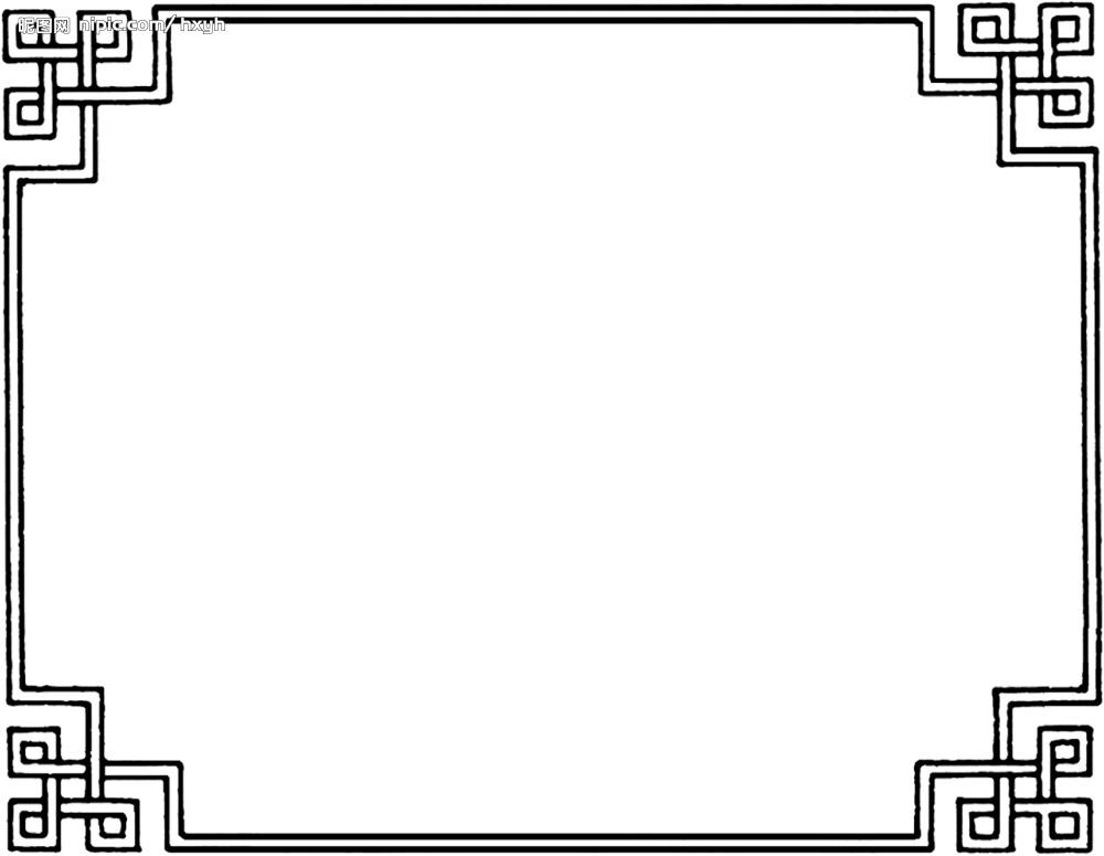 【花式素材】简洁易拼古风图图片