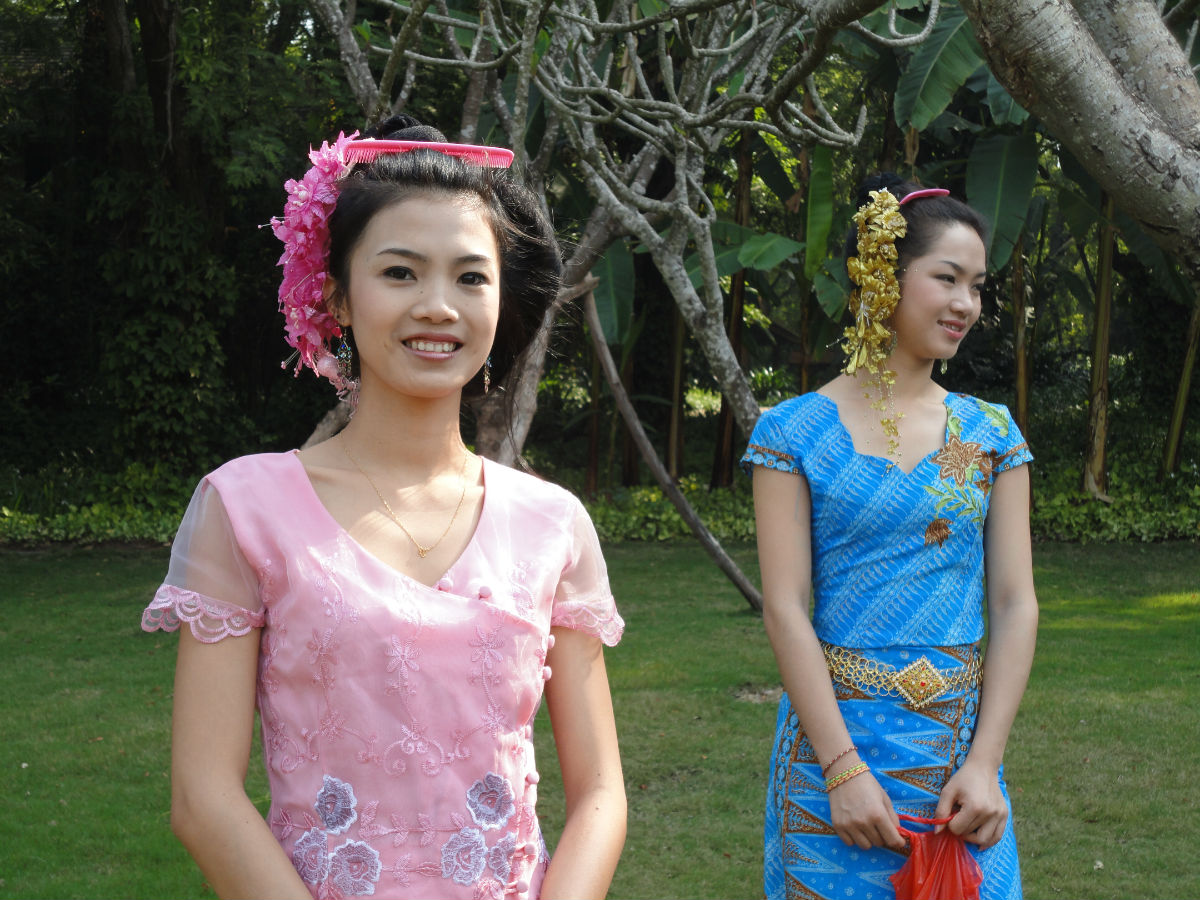 傣族女生发型分享展示