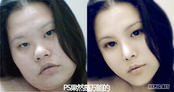 【震惊】来看看网络美女们妆前和妆后pk