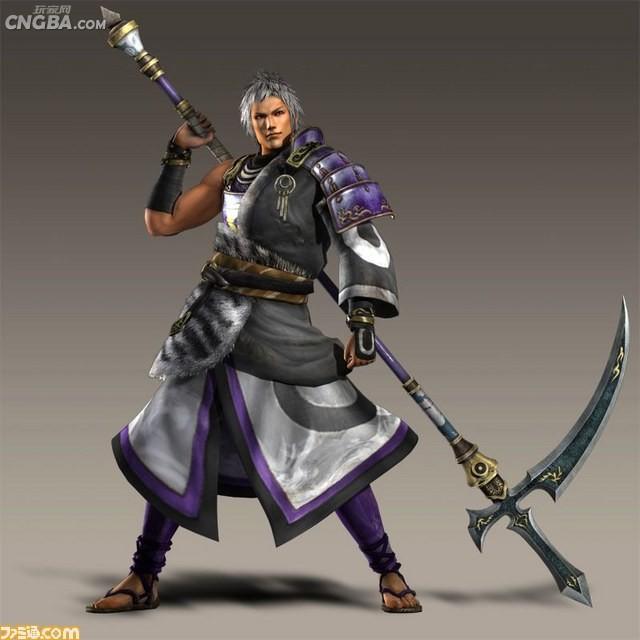 古代有使镰刀的武将吗?图片