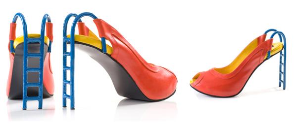 创意怪才 kobi levi的奇异鞋子图片