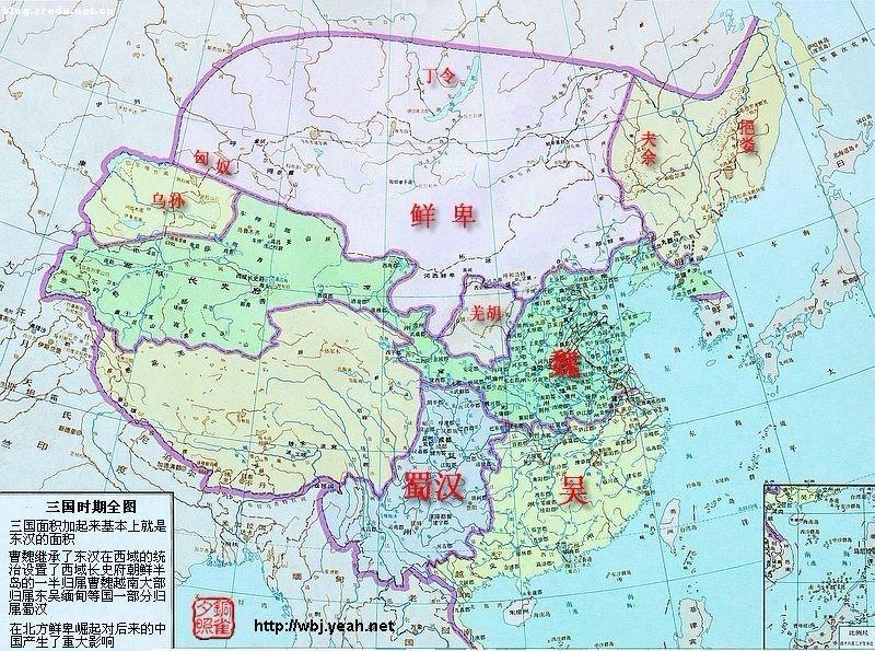 东汉末年高清地图图片大全 东汉末年,群雄割据时期地图,求