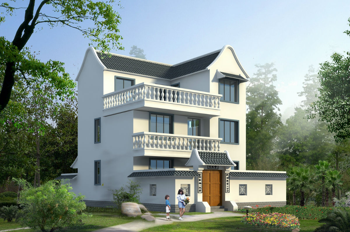 新农村住宅 农村房屋设计图 新农村住宅建设户型图 新农村住宅设计图