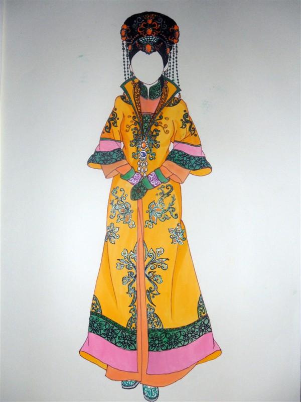 清朝皇后服饰图片图片展示_清朝皇后服饰图片相关图片