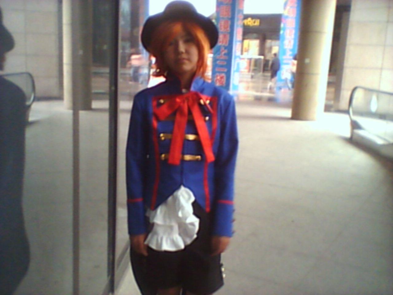 宫迷海洋 酱油君陪朋友去了柯桥她加入的cosplay团今天cos...