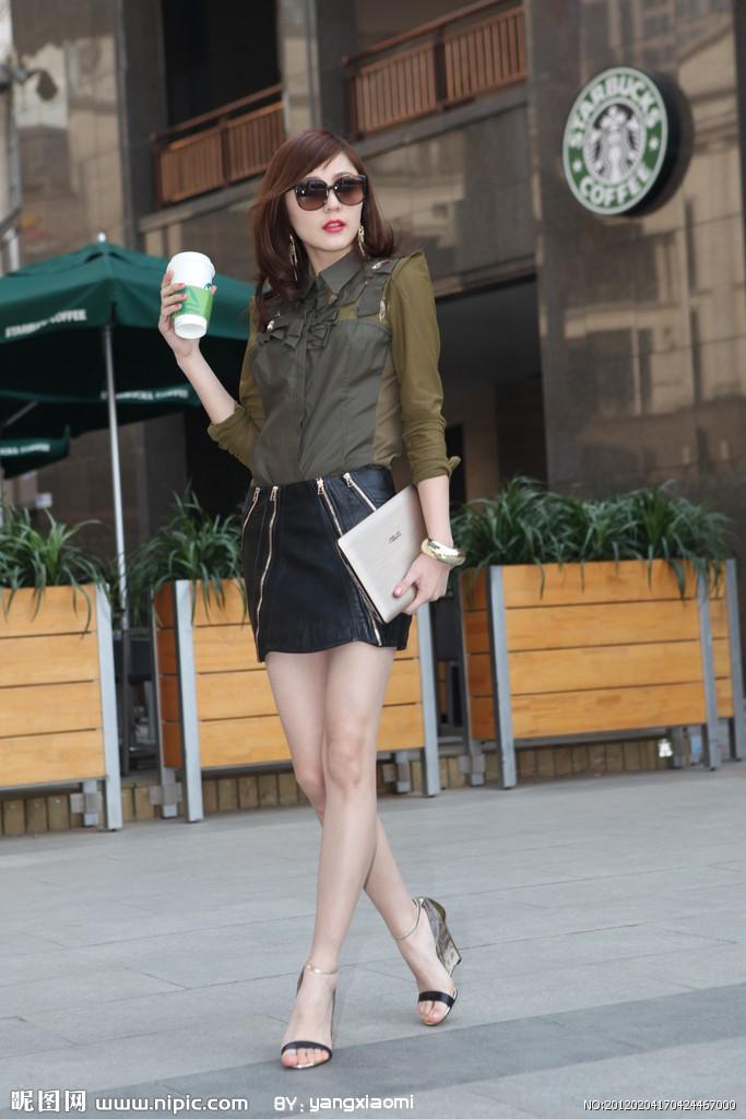 哈尔滨美女街拍 身材超级好真是正点组图