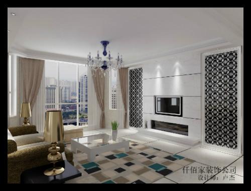 仟佰家装饰公司室内装修之 客厅