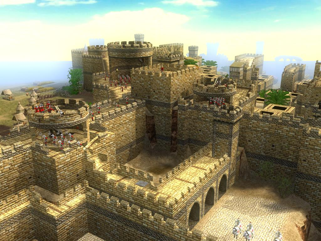 12楼 城堡所有结构来自耶路撒冷地图,当然为了游戏性去掉了高清图片