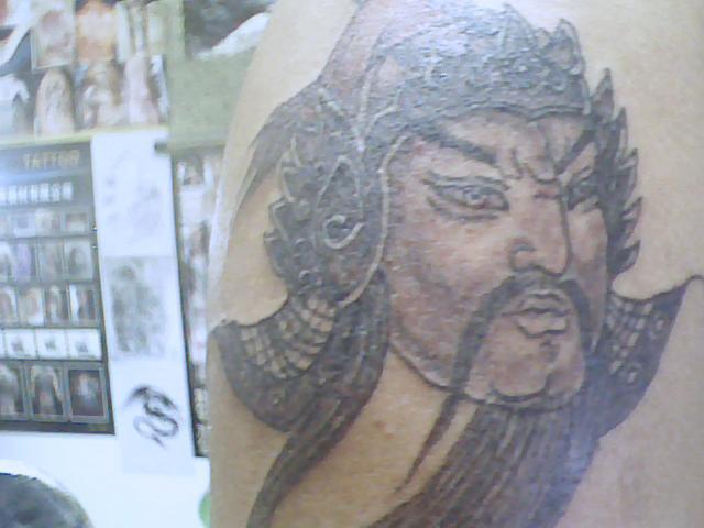 赵子龙后背纹身图片大全 求一个后背赵子龙纹身.求逼真