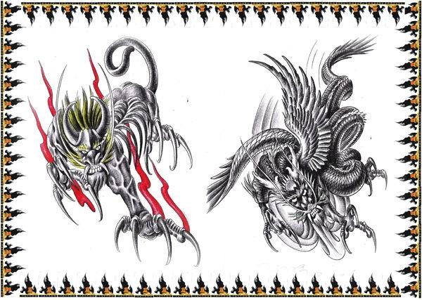 麒麟纹身_貔貅纹身与麒麟纹身有所不同