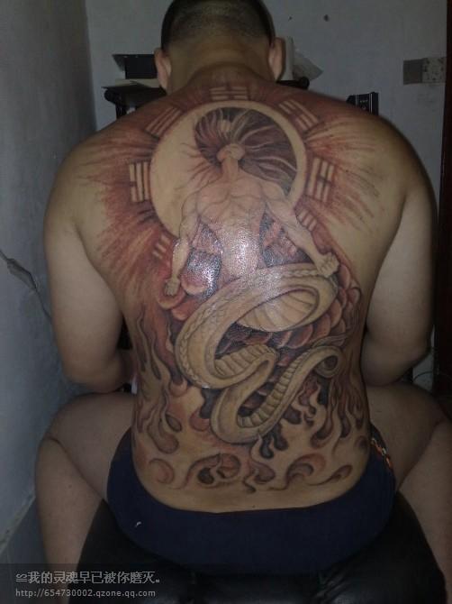 各位纹身界的朋友们看看这个图纹的好不好谢谢图片
