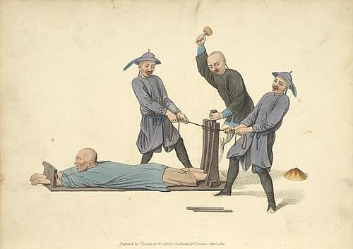 刖刑是一种类似截肢的酷刑图片