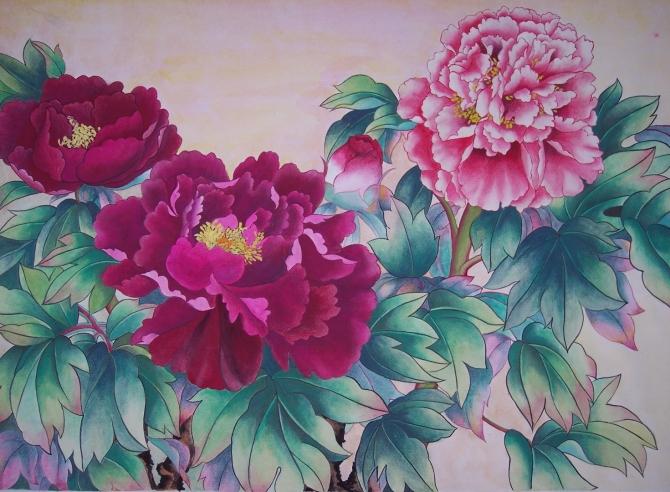 ... 省地州市各类绘画中屡次获奖,荣获全国美术优秀图片