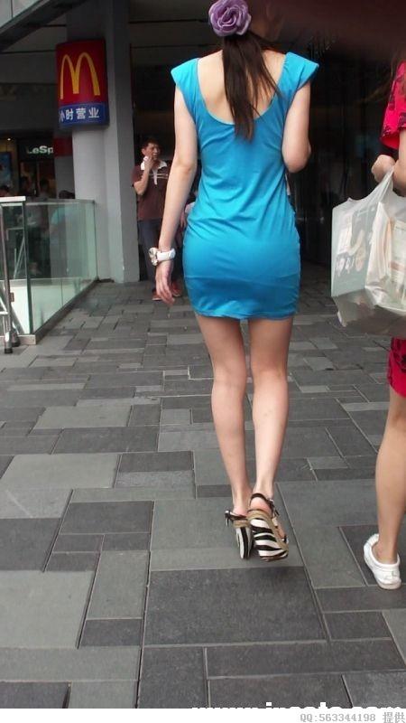 【神人街拍】李小璐被抄底?