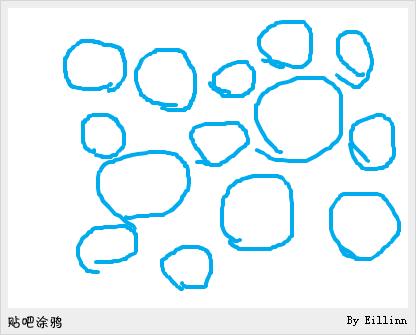默默的在角落里划圈圈图片