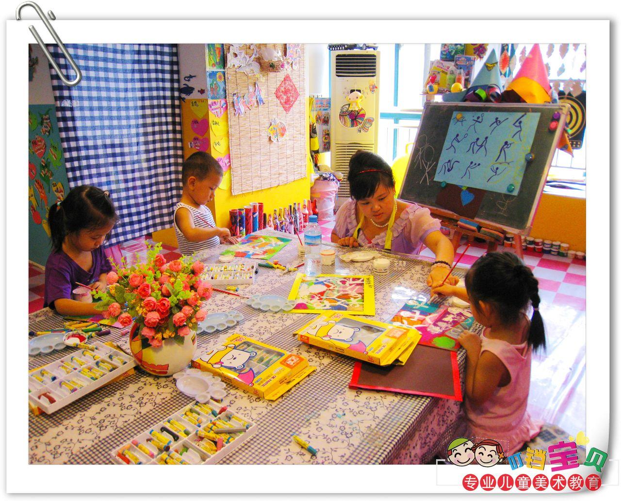 学画画-专业儿童美术培训-儿童右脑开发图片