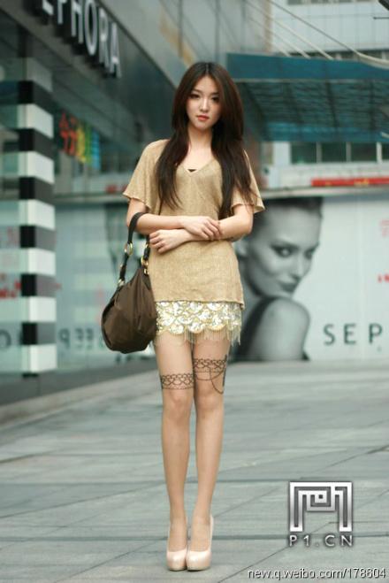 重庆美女街拍 内蒙古吧