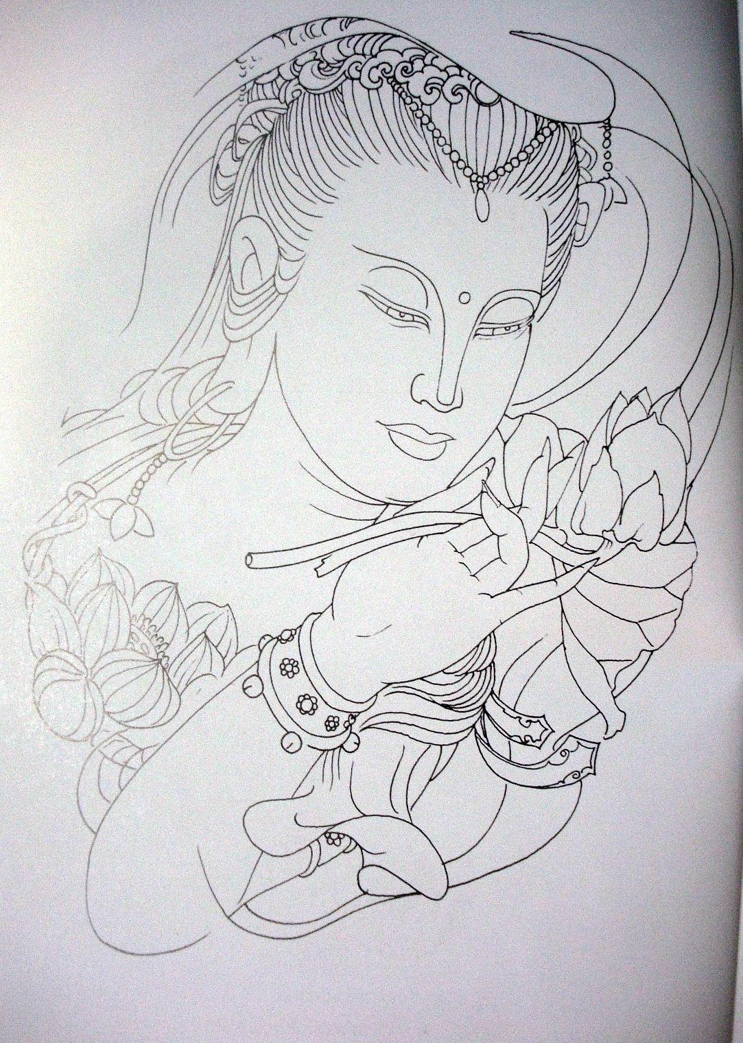 纹身首页图文踏龙手稿观音uiv纹身室内设计转行怎么图片