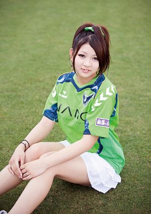 日本足球第一美女 日本足球吧 竖