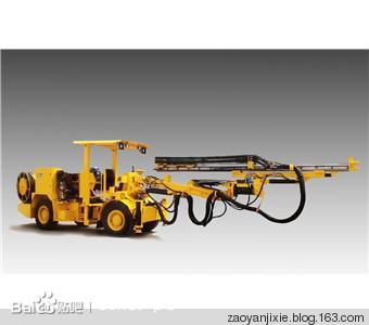 ht81型液压掘进凿岩钻车图片